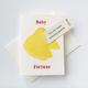 Steel Petal Press Baby Amazing Parents | Fortune Cookie Card