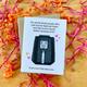 Wild Card Creations Air Fryer Love Card