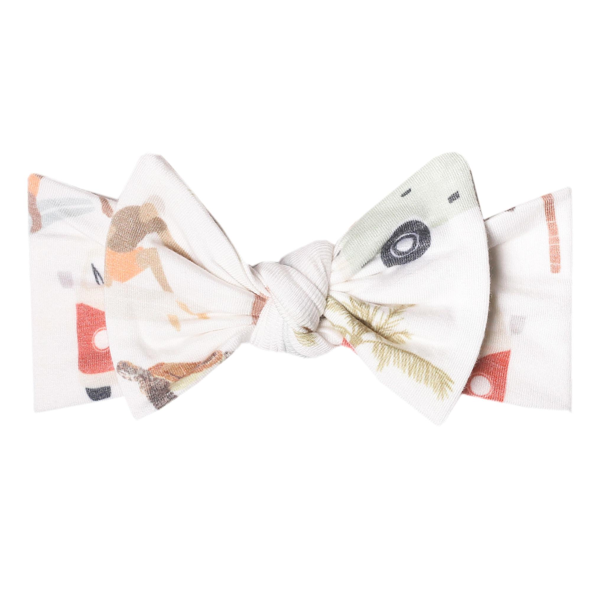 Copper Pearl Knit Headband Maui