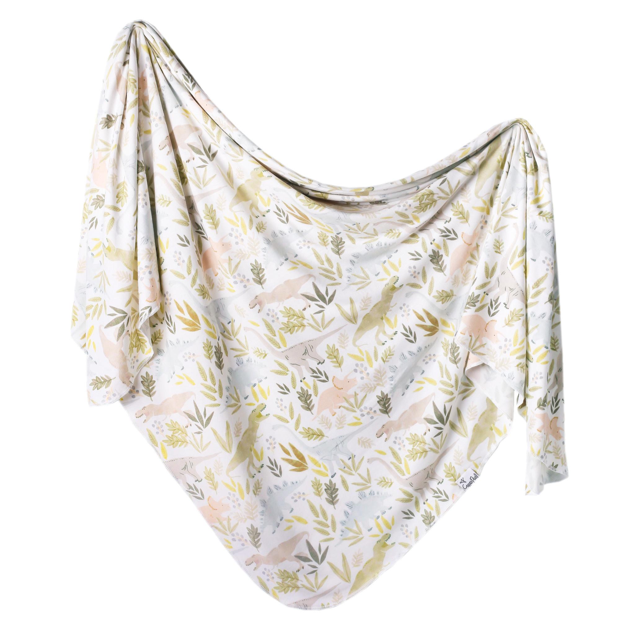Copper Pearl Knit Swaddle Blanket Rex