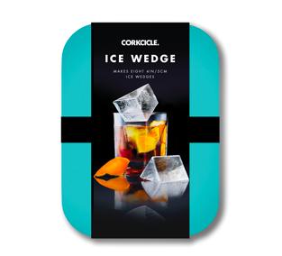 Corkcicle. ICE WEDGE - Turquoise