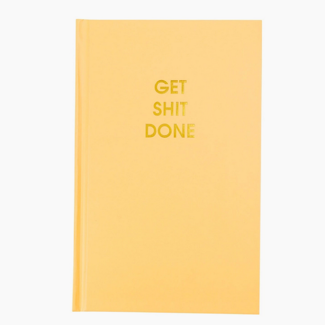 Chez Gagne Get Shit Done Journal