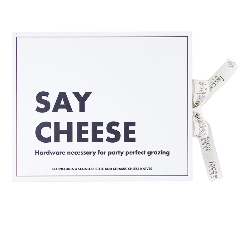 Creative Brands Ceramic Cheese Knives - Set of 4