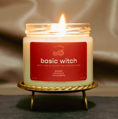 Evil Queen Basic Witch Candle