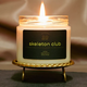 Evil Queen Skeleton Club Candle