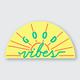 Pike Street Press Good Vibes Sticker