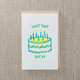 Pike Street Press Light That Up Birthday Card