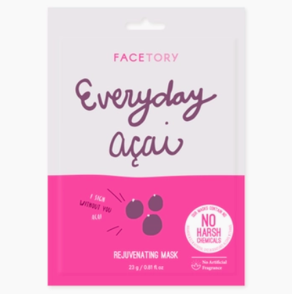 FaceTory Everyday, Acai Rejuvenating Mask