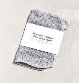 Morihata MORIHATA Charcoal Face Towel