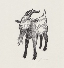 Graham Blair Woodcuts GRAHAM BLAIR billy goat