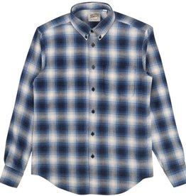 Naked & Famous Denim NAKED AND FAMOUS regular shirt ombre flannel
