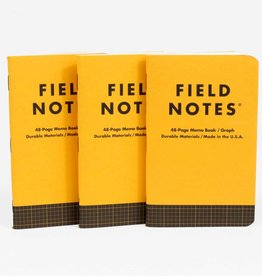 FIELD NOTES FIELD NOTES utility graph memo book set of 3