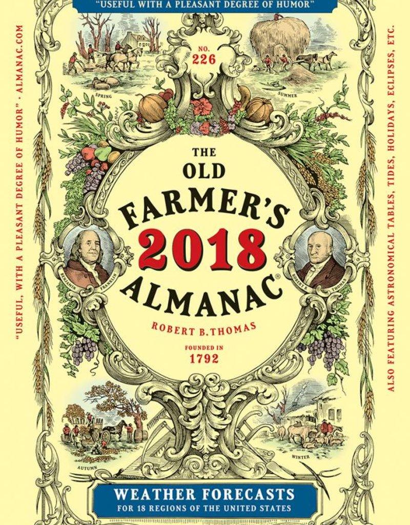 2018 FARMER'S ALMANAC