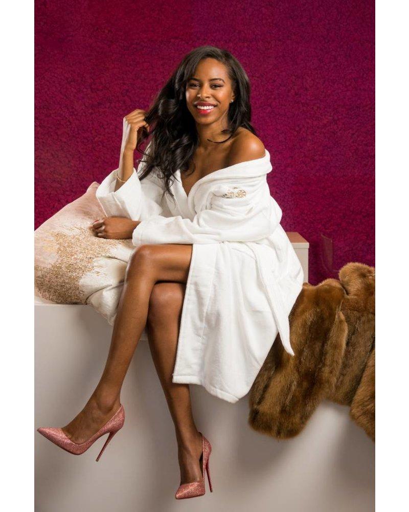 Cherry Blossom Intimates Premium Cotton Terry Robe | by Cherry Blossom Intimates