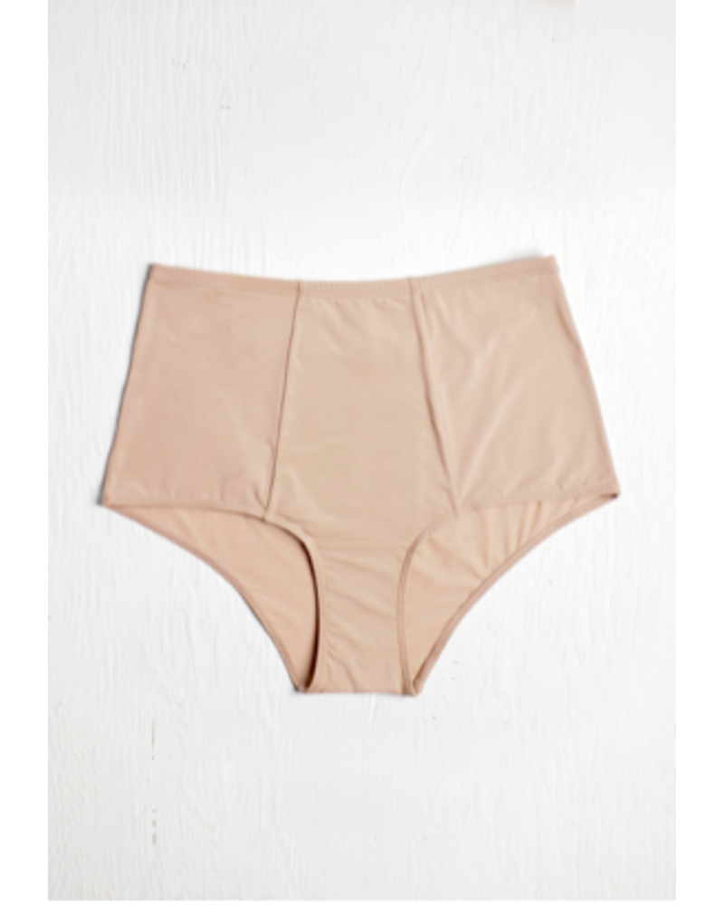 Blush Micro High Waist Brief Malt