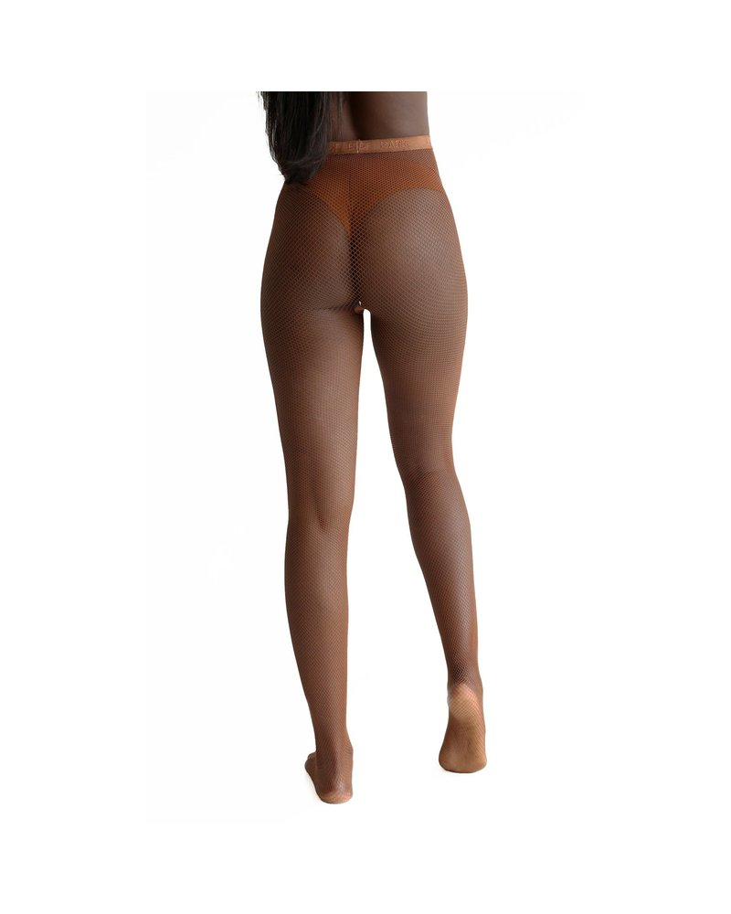 Nude Barre Cocoa Fishnets