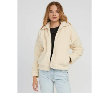 RVCA Ted Sherpa Zip Thru