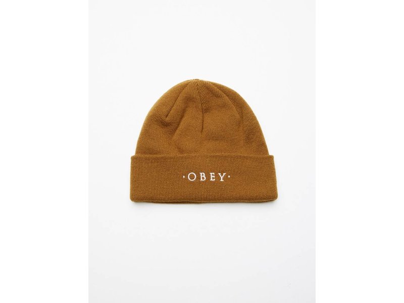 OBEY Union Beanie-Tapenade