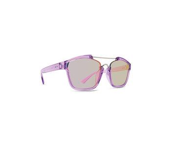 Dot Dash Mens Confuego Sunglasses,OS,Purple//Pink