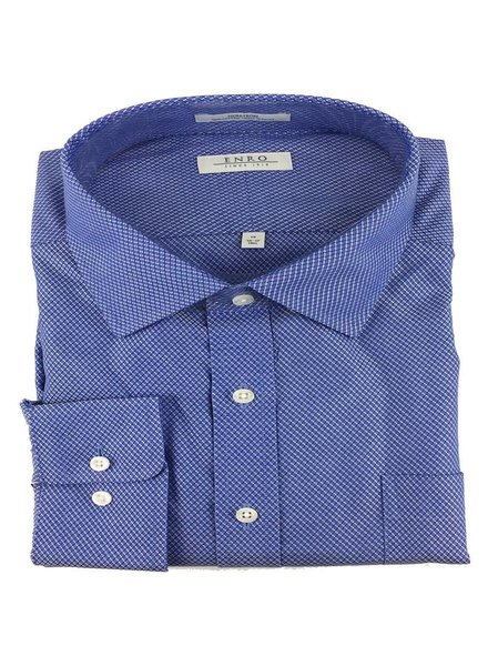 Enro Enro N/I Blue Ashbury Check Shirt