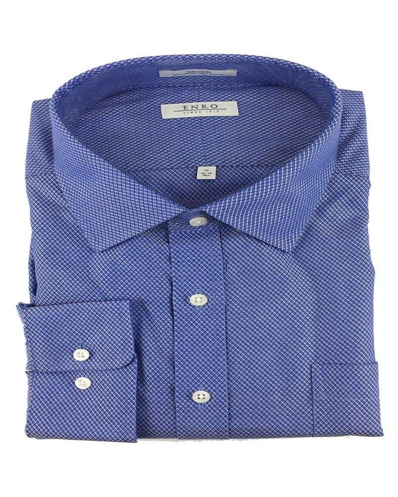 Enro Enro N/I Blue Ashbury Check Shirt