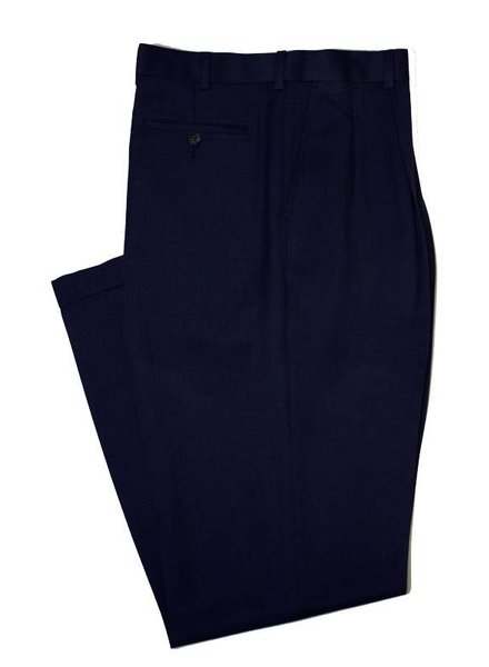 Ballin Enro Sublima Pleated Cuff Pant-Deep Blue