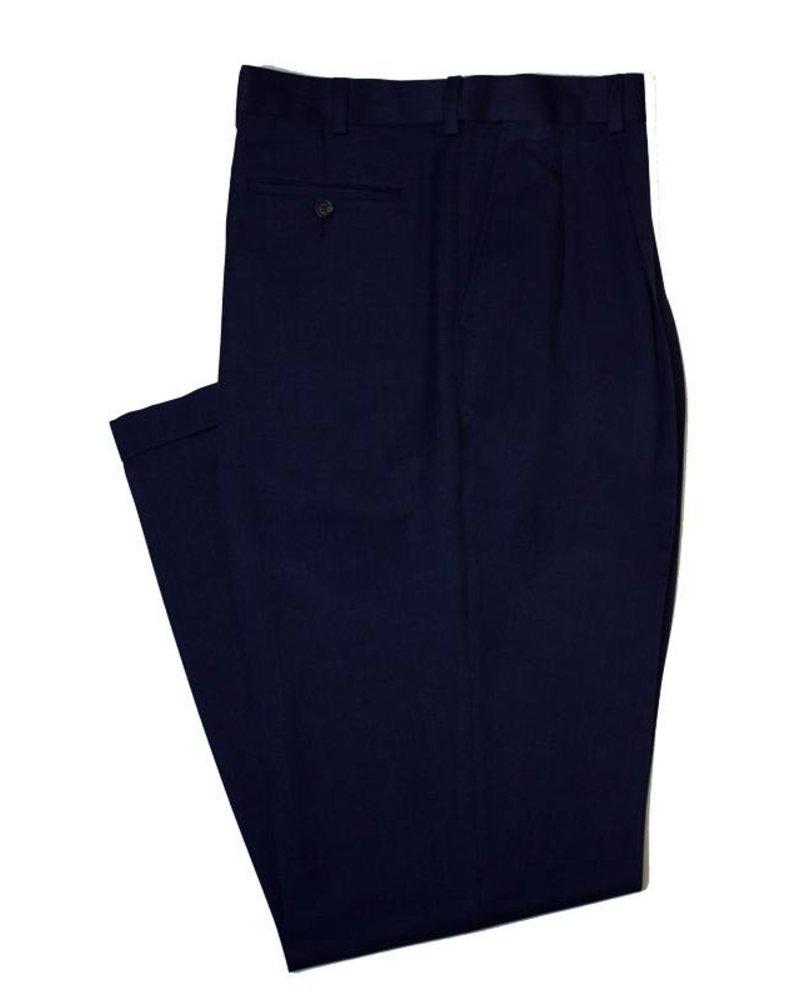 Enro Sublima Pleated Cuff Pant-Deep Blue