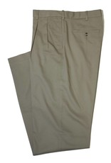 Savane Savane Khaki Pleat Ultimate Chino