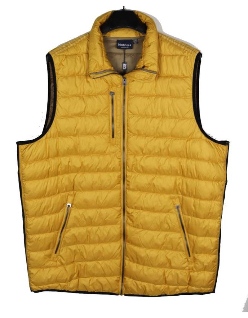 All Size North 56*4 Mustard Puffer Vest