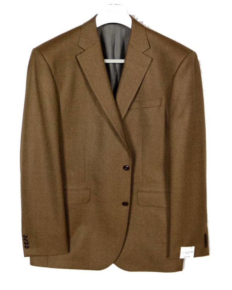 Jack Victor Jack Victor Camel Herringbone Sportcoat
