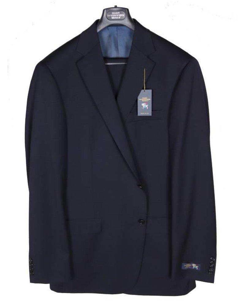 Hart Schaffner Marx Hart Schaffner and Marx Solid Navy Suit
