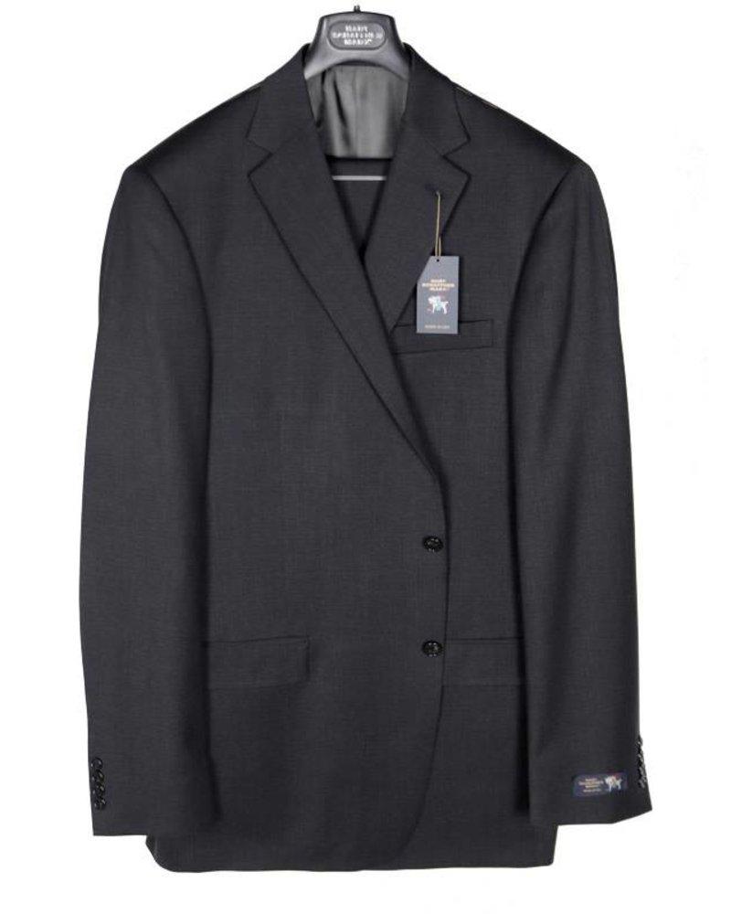 Hart Schaffner Marx Hart Schaffner and Marx Solid Charcoal Suit