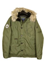 All Size North 56*4 Olive Hooded Parka