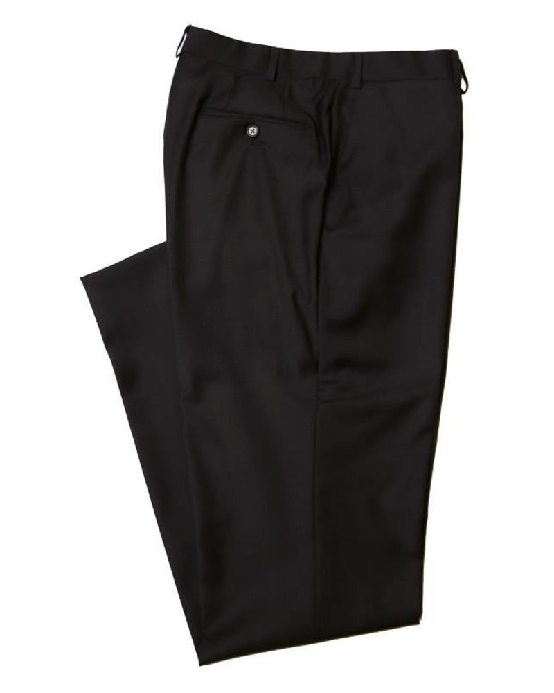 Peerless Flat Front Solid Suit Pant