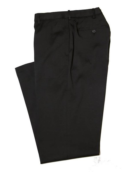 Savane Savane Black Flat CrossHatch Pant