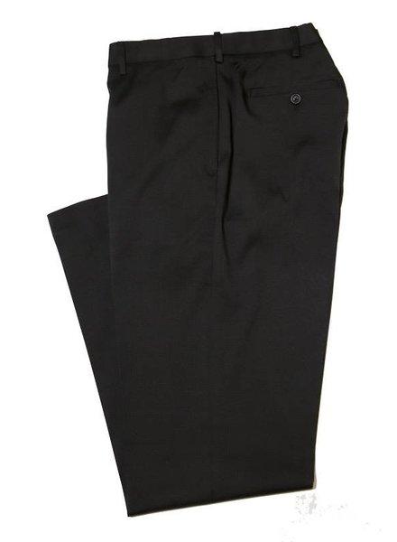 Savane Savane Black Flat CrossHatch Pant