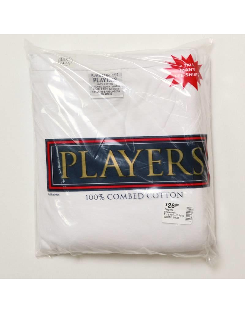 Players Crewneck T-Shirt-2 Pack
