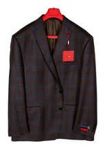Tailor Red Glenn Plaid Sportcoat