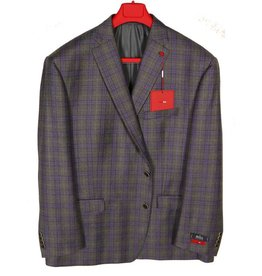 Tailor Red Windowpaine Sportcoat