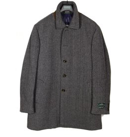 Lauren Ladd Grey Herringbone Coat
