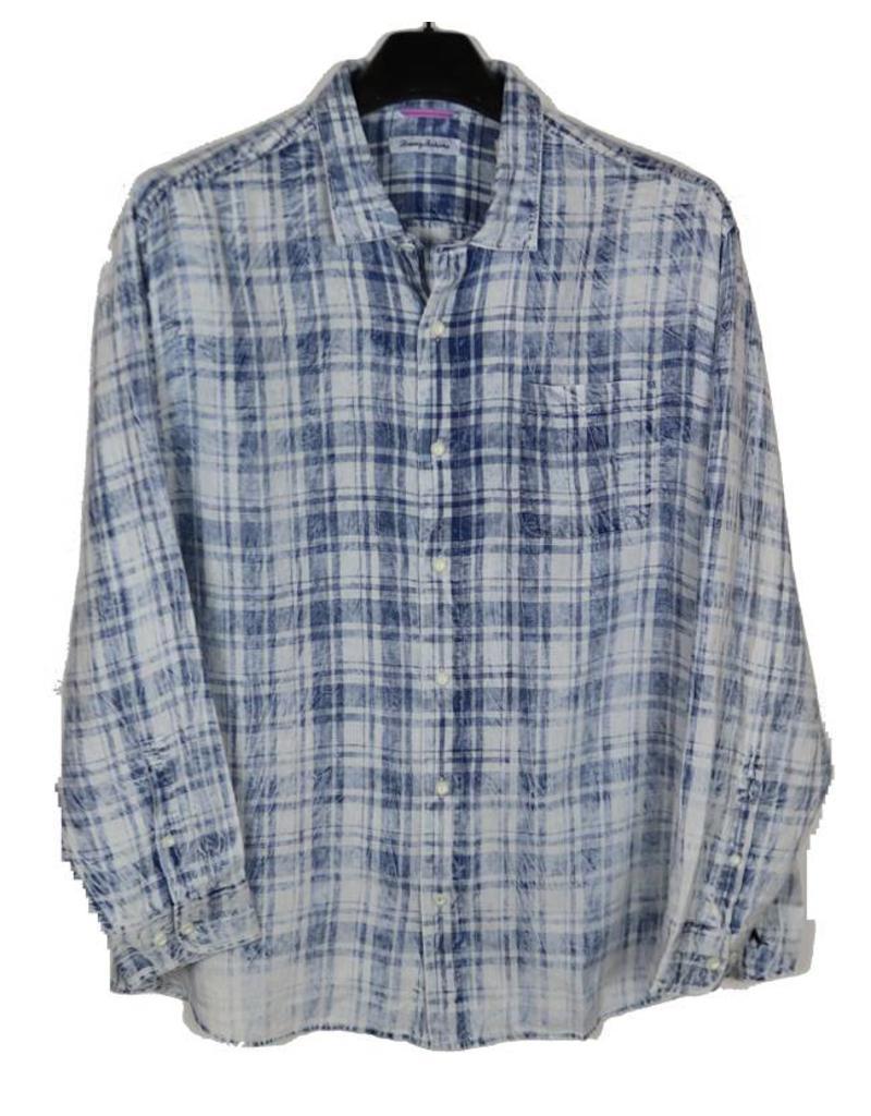 Tommy Bahama Tommy Bahama LS Indigo Blue Sun Fade Shirt