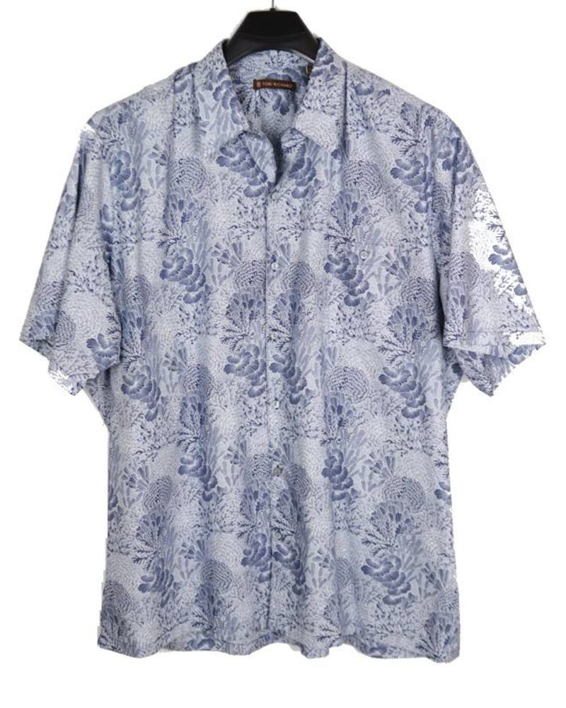 Tori Richard Good Reef Cotton Lawn Shirt