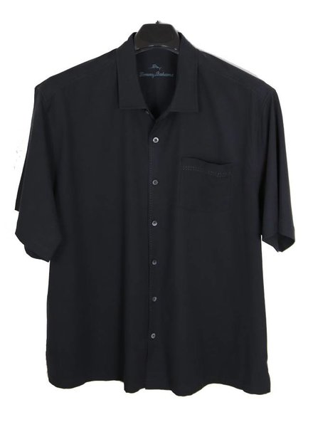 Tommy Bahama Tommy Bahama SS Black Catalina Stretch Twill