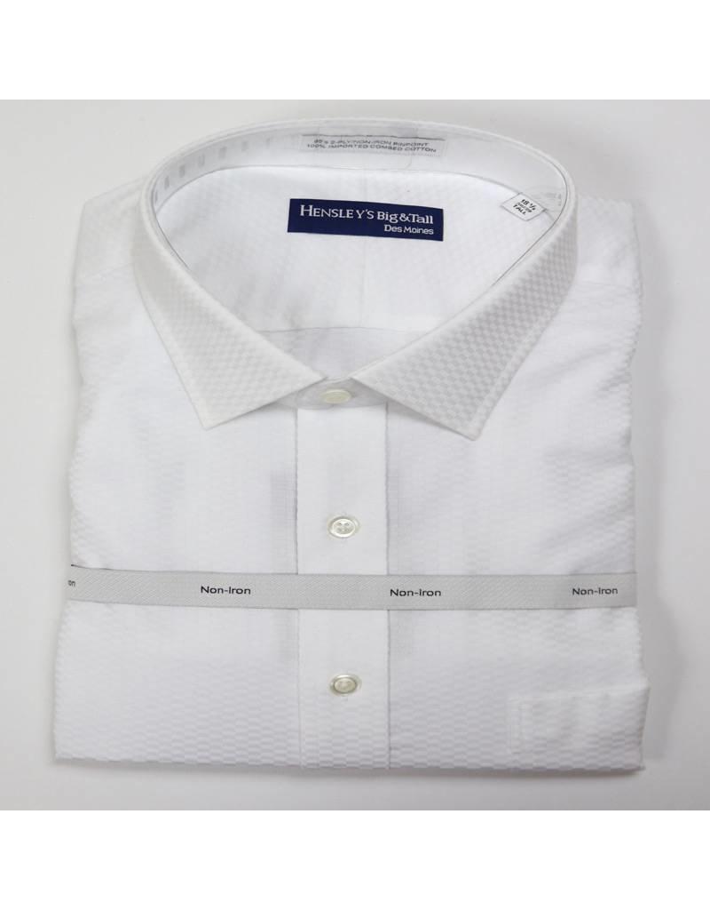 Hensley's N/I Spread White Tonal Check