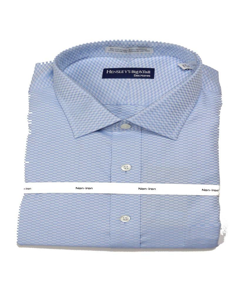 Hensley's N/I Spread Blue Tonal Check
