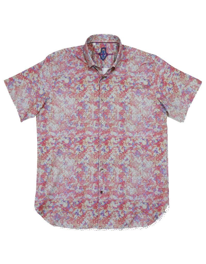 Luchiano Visconti Luchiano Visconti SS Multi Paisley Shirt