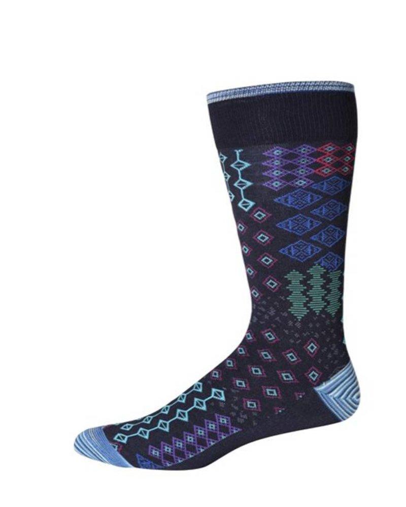 Robert Graham XL Navy Belden Socks
