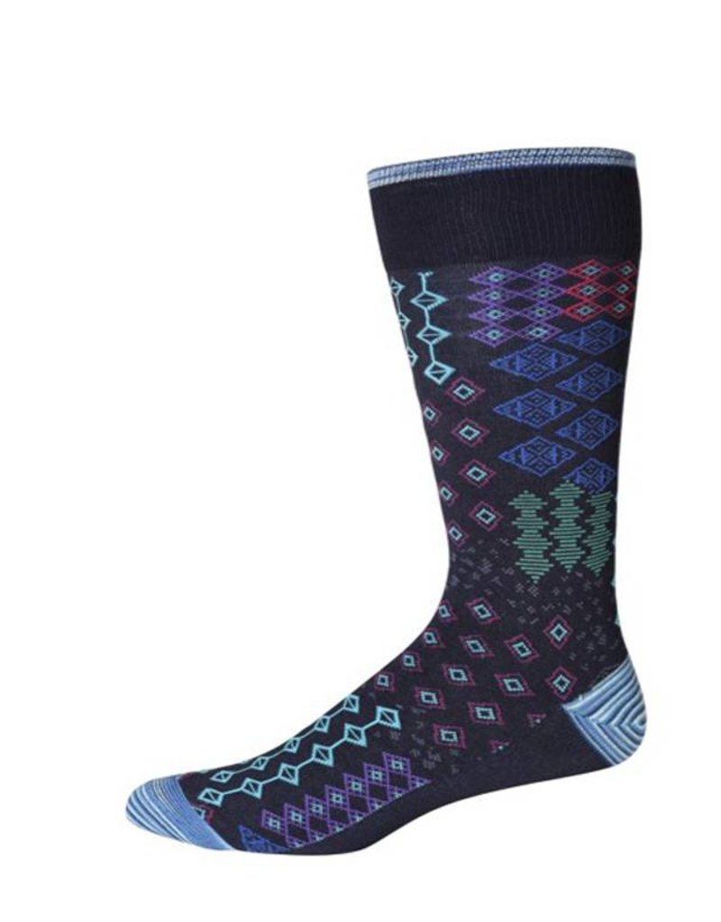 Robert Graham XL Navy Belden Socks