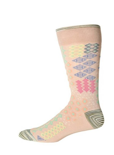 Robert Graham Robert Graham XL Khaki Belden Socks