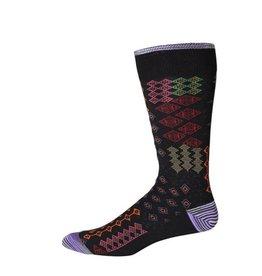 Robert Graham XL Black Belden Socks